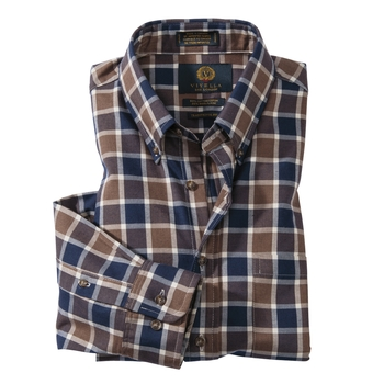 Viyella Windowpane Sport Shirt