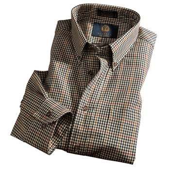 Viyella Cotton & Wool Check Shirt