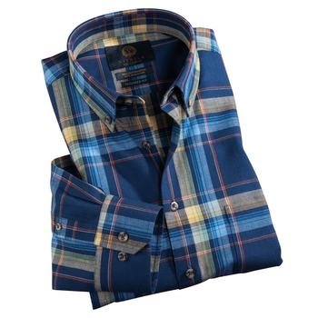 Viyella Cotton & Wool in Plaid