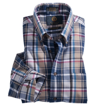 Viyella Plaid Sport Shirt