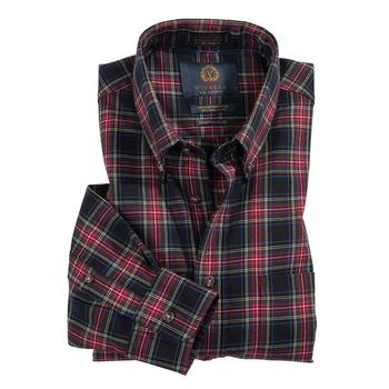 Black Stewart Viyella Shirt