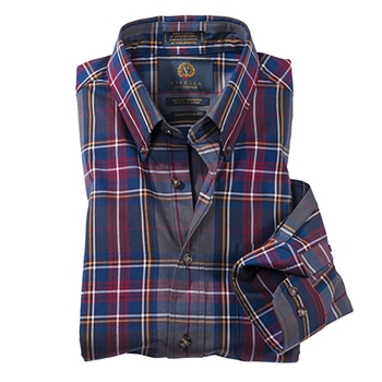 Plaid Viyella Sport Shirt