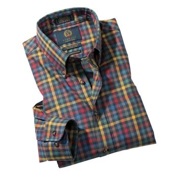 Multicolor Check Viyella Sport Shirt