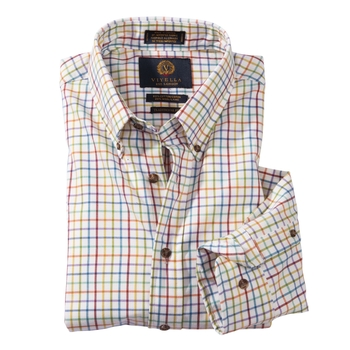 Viyella Mini-Tattersall Check Sport Shirt