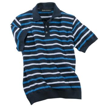 Crestline Boucle Stripe Polo