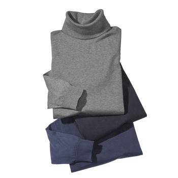 John Smedley's Sea Island Cotton Turtlenecks