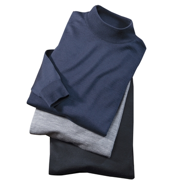 Smedley Merino Wool Mock Turtlenecks