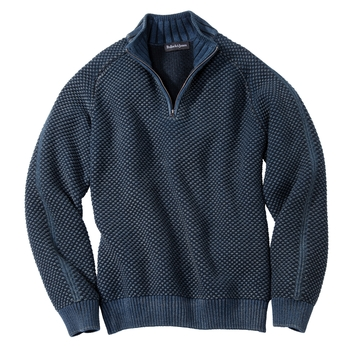 Cambria Indigo Quarter-Zip