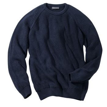 Ribbed Cotton Crewnecks