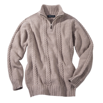 Murray Cashmere Quarter- Zip