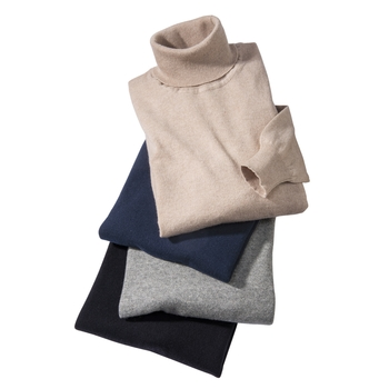 Stefano Cashmere Turtlenecks