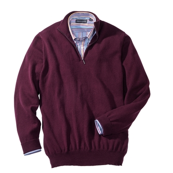 Cashmere Quarter-Zip Pullovers