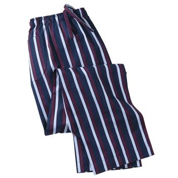 Brighton Satin Stripe Lounge Pants by Derek Rose