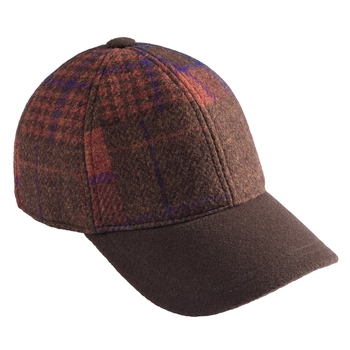 Wool Patchwork Cap