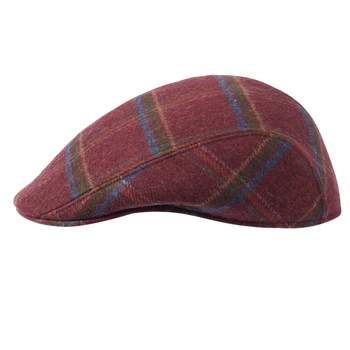Maurice Merino Wool Plaid Touring Cap