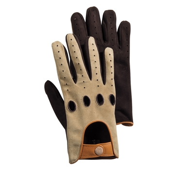 Italian Suede Driving Gloves