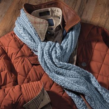 Alpaca/Silk Arran Scarves