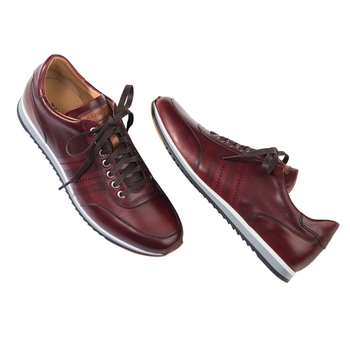 Leather Sneaker by Magnanni