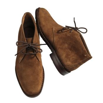 Waterproof Suede Chukka Boots