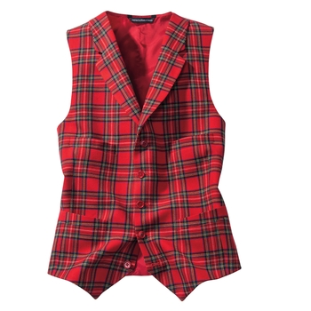 Royal Wool Tartan Vest