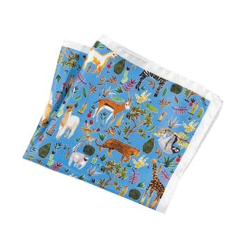 Animal Print Pocket Square