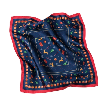 Albero Silk Pocket Square