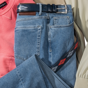 6-Pocket Stretch Jeans