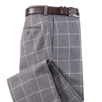Roberts Windowpane Stretch Flannels