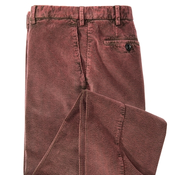 Romolo Washed Stretch Corduroys