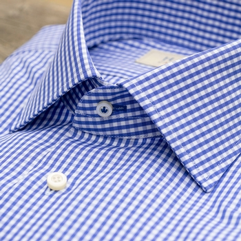 Gingham Check Dress Shirt