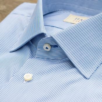 Poplin Stripe Dress Shirt