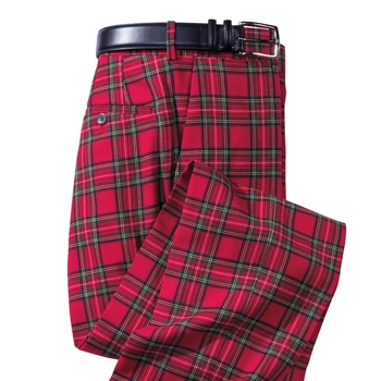 Royal Wool Tartan Slacks