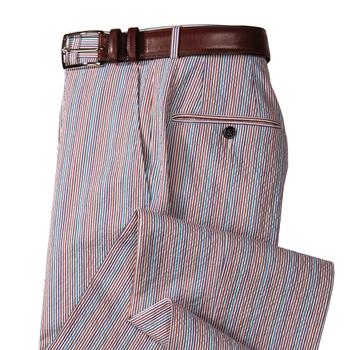 Mark Stretch Seersucker Trousers