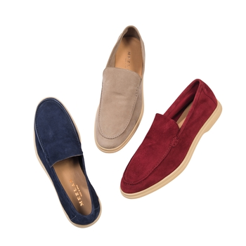 Soft Suede Slip-ons