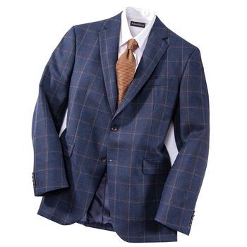 Allen Double Windowpane Sport Coat