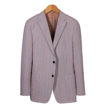 Mark Stretch Seersucker Sport Coat