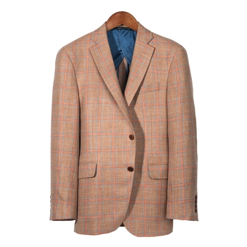 'Brentwood' Plaid Hopsack Sport Coat