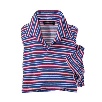 Lenno Stripe Boucle Italian Polo
