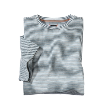 Seersucker Stripe Left Coast Tees