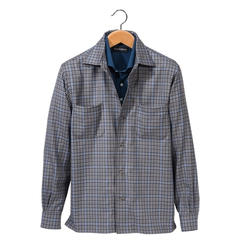 Piedmont Tattersall Shirt Jacket