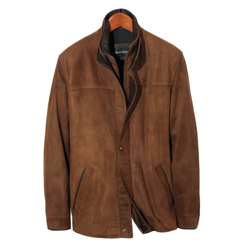 Valencia Three-Quarter Suede Jacket