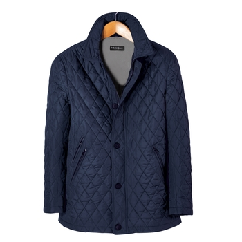 Tommaso Diamond-Quilted Jacket