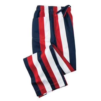 Bold Stripe Lounge Trouser by Derek Rose