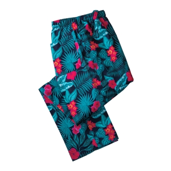 Tropical Floral Lounge Trousers by Derek Rose