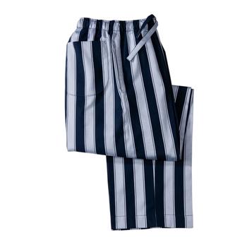 Stripe Lounge Trousers by Derek Rose