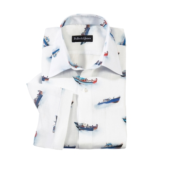 Barca Linen Sport Shirt