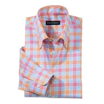 Vivace Windowpane Button- Down
