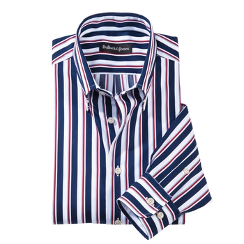 Tiburon Stripe Button- Down