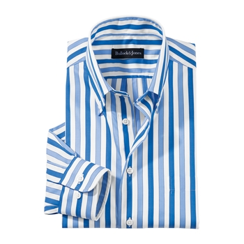 Reed Stripe Button-Down