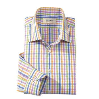 Laguna Check Sport Shirt by Hagen